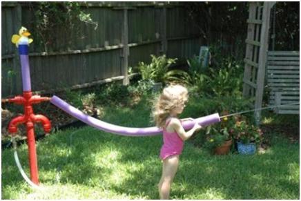 Backyard Sprinkler Park Event Horizons