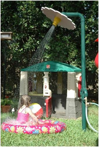 Backyard Sprinkler Park by Event Horizons